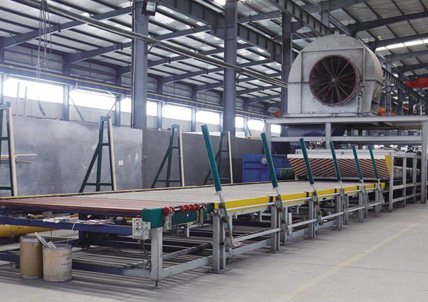 13 meters Tempered glass line