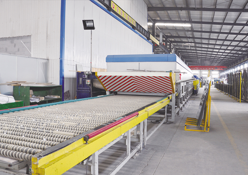 Continuous Tempering line